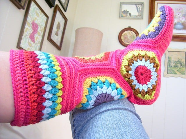 20 Free Crochet Slipper Patterns That Are Perfect For Fall Ideal Me