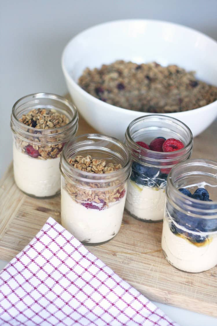 Make Ahead Yogurt Parfaits - 21 Expert Camping Food Hacks You Wish You'd Heard of Years Ago. Why not use some expert camping food hacks to help take the stress out of camping cooking. Check out these impressive camping food tips and tricks that will help you whip up tasty meals in a flash.