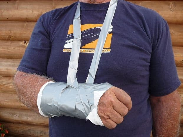 Soft cast out of duct tape. You may not know it but there a many everyday items that can be used in practical and helpful survival essentials. When you're caught in a survival situation, it's your skills that will make or break you. Here are some amazing survival tips that could wind up saving your life or a loved one's life.