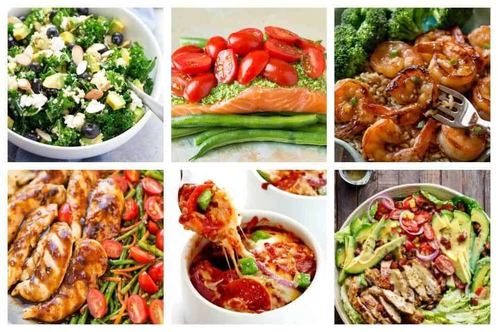 17 Quick and Healthy Recipes that Were Made for Busy Weeknights. Dinner can be on the table in less than 30 min from start to finish with these quick, easy, and delicious recipes that everyone will love - get them now.
