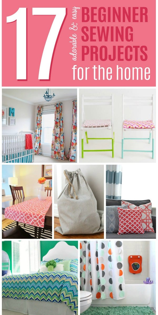 These easy beginner sewing projects are also super adorable and useful projects you can use in your home. With these great sewing projects, decorating your home will be easier than ever. Check out our fantastic list of ideas now.