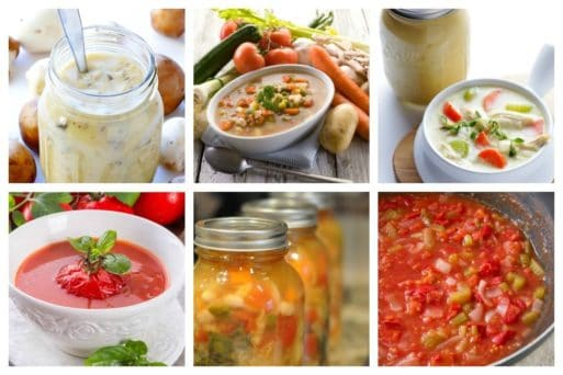 Canning homemade soups can help you save money, gain control over what's in your food, and save you time when you need a quick meal. Make your own canned soup with one of these delicious twelve recipes today.