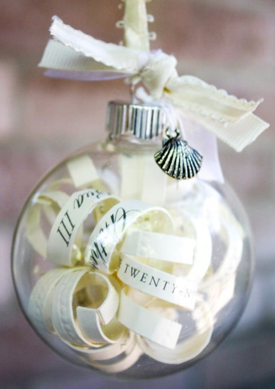 Wedding Invitation Ornament - Are you struggling to figure out what to get your favorite newlyweds? Don't stress! We've got the perfect thoughtful DIY wedding gifts that every couple will love.