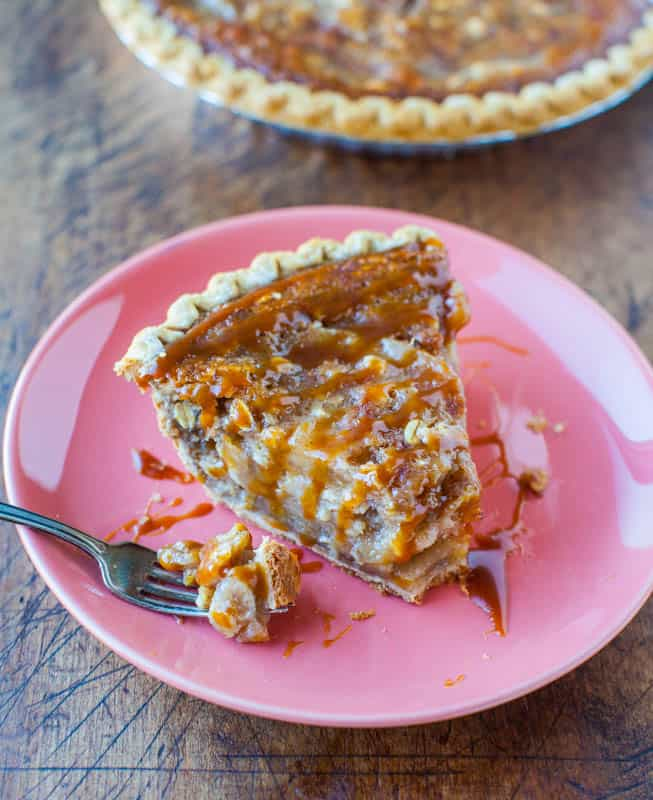 Caramel Apple Pie - These Fall recipes are perfect for the holidays and for any time you want to bring the delicious smells of apple, cinnamon, and pumpkin into your home. You're guaranteed to find a fall flavor you love with these 18 delicious fall dessert recipes.