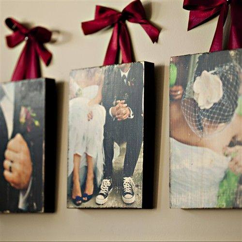 Modge Podge Photo Transfer - Are you struggling to figure out what to get your favorite newlyweds? Don't stress! We've got the perfect thoughtful DIY wedding gifts that every couple will love.