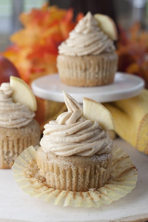 Apple Cider Cupcakes - Check out our list of 20 of the best easy desserts to feed a crowd. Be prepared for empty dishes and a round of applause when you bring one of these recipes to your next event.