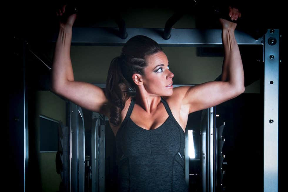 Betty Biceps Workout - This high repetition, high-intensity workout is going to help to burn fat and tone your arms and shoulders.