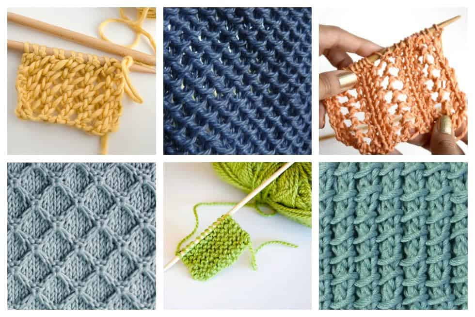 18 Easy Knitting Stitches You Can Use for Any Project - Ideal Me