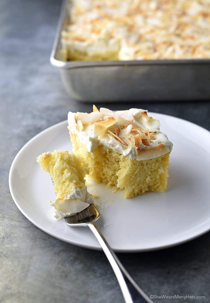 Coconut Sheet Cake - Check out our list of 20 of the best easy desserts to feed a crowd. Be prepared for empty dishes and a round of applause when you bring one of these recipes to your next event.