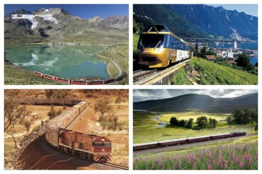 Traveling by train may be just the perfect idea for your next adventure. Here's our pick of the world's top 15 train trips to put on your bucket list.