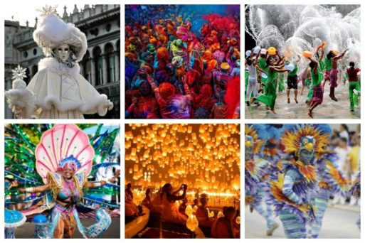 Every year, at various venues around the planet, countless festivals are held. Check out our top 20 picks for the World's Most Incredible Festivals to experience in your lifetime.