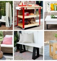17 DIY Outdoor Furniture Ideas To Make Your Yard More Welcoming