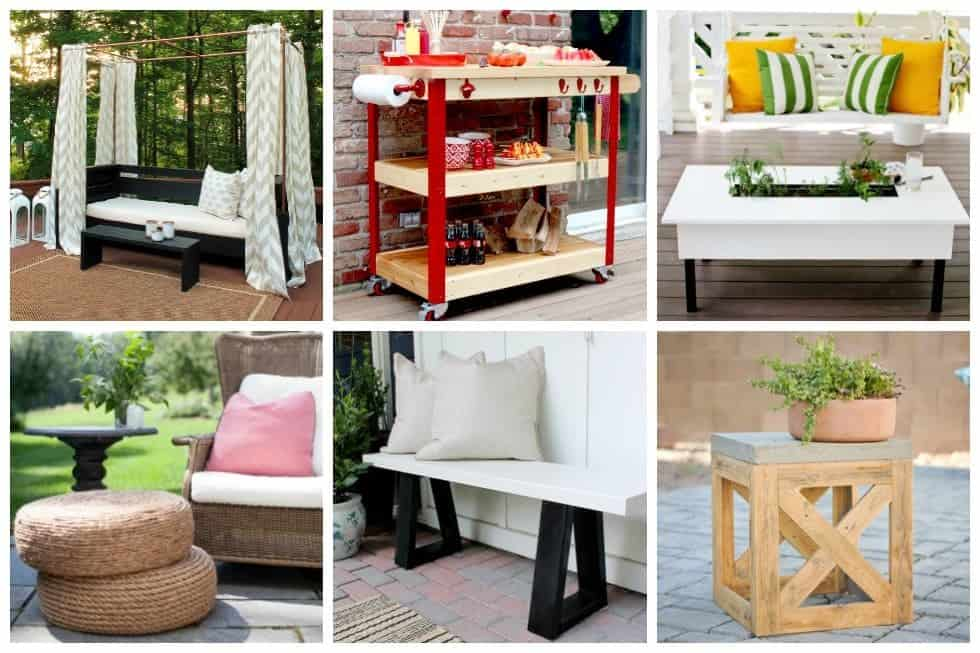 It's not difficult to transform your yard into a space you'll love with these 17 DIY outdoor furniture ideas that will make your yard more welcoming.
