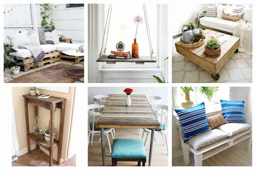 These simple DIY pallet projects are no-frills and downright beautiful and easily customizable. From shelves to coffee tables, and headboards to desks, we've got you covered. Here are 15 awesome things you can build with pallets today.