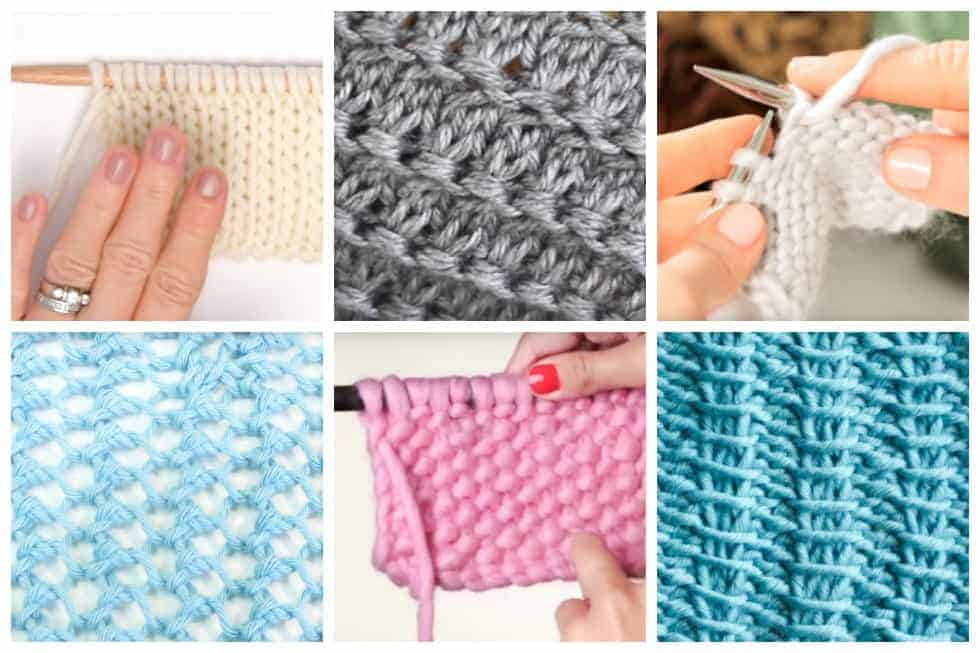 0548b460ca2d Top 20 Video Tutorials of Some of the Most Popular Knitting Stitches ...