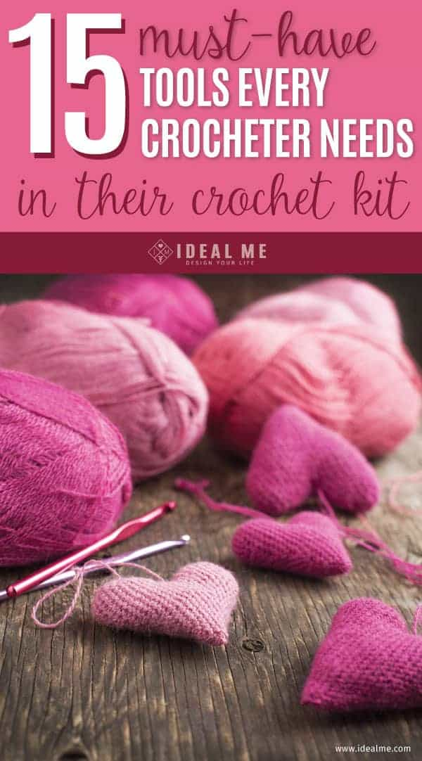 Here's a list of all the must-have tools every crocheter needs to have in their crochet kit.