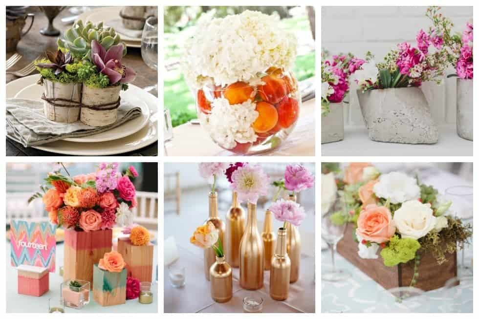 25 stunning diy wedding centerpieces to make on a budget ideal me believe it or not you can create stunning centerpieces without spending much at all junglespirit Images