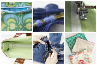 Sewing a zipper may appear like a daunting task, in fact, if you are new to sewing – you may even have knowingly avoided doing his particular task. Luckily there are various techniques, tips and steps you can follow to learn how to sew a zipper.