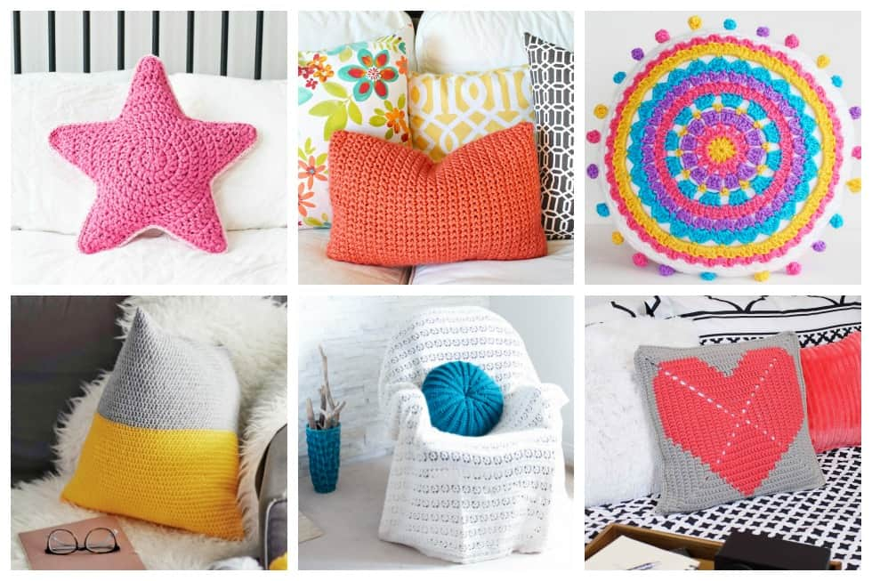 20 Crochet Pillow Patterns That Anyone Can Make Ideal Me