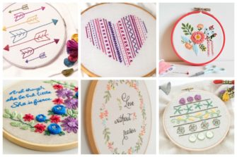 We've found these 15 easy hand embroidery patterns that are not only great for beginners, they're also perfect for gift giving.