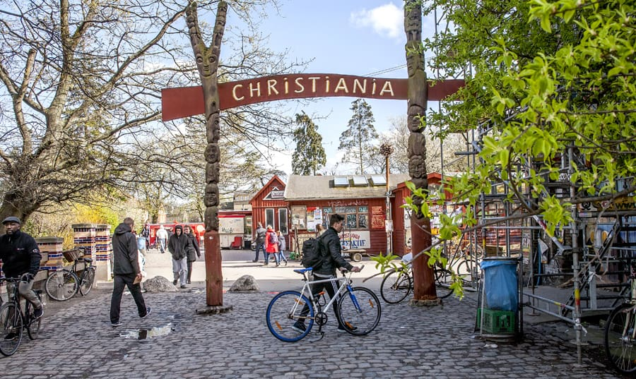 Freetown Christiania, Denmark - unconventional European cities