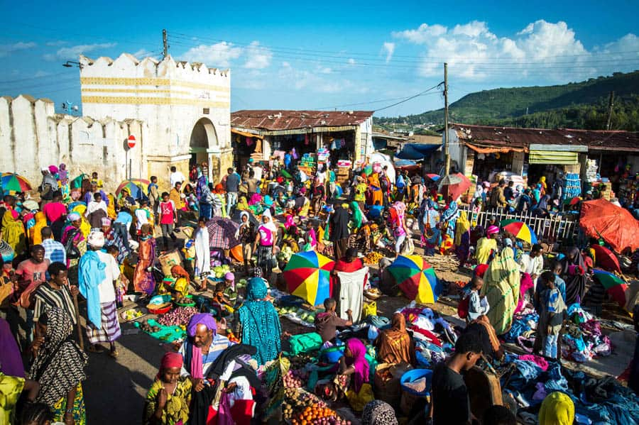 Harar Ethiopia the living museum, cheap place to fly