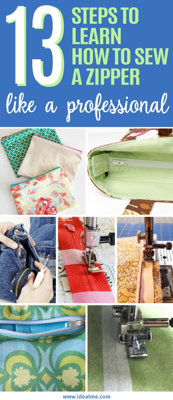 Start learning how to sew a zipper with these techniques, tips, and tutorials. It's not as scary as you think - give it a try and you'll never look back.