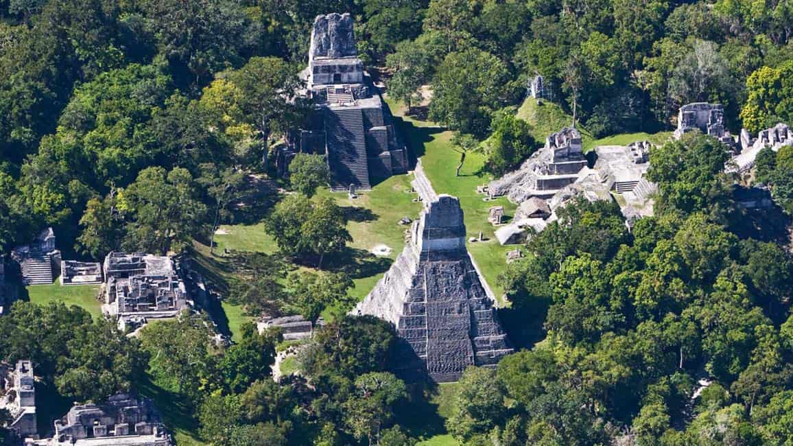 cheap place to fly; Mayan ruins in Guatemala
