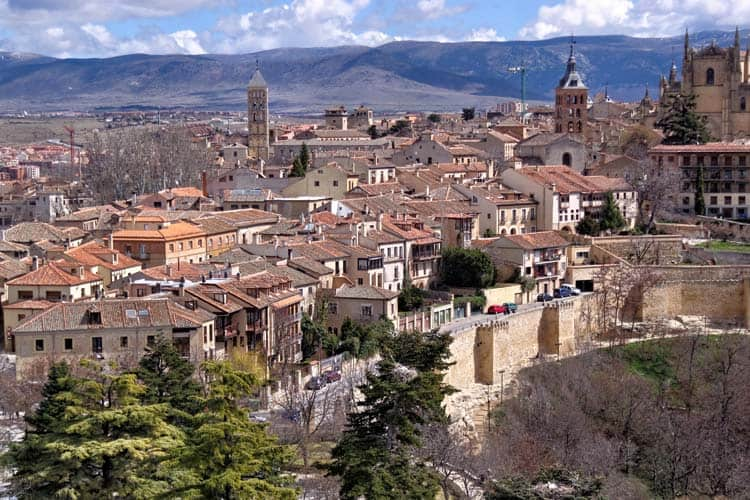 Segovia, Spain - unconventional European cities