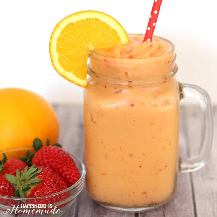 Cold Buster Immune Boosting Smoothie - easy smoothie recipes