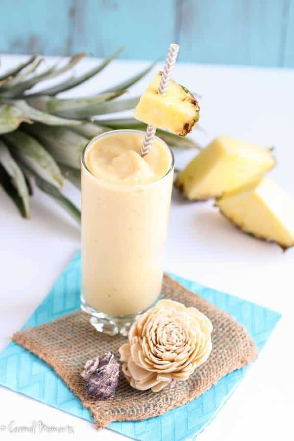 Healthy Piña Colada Smoothie - easy smoothie recipes