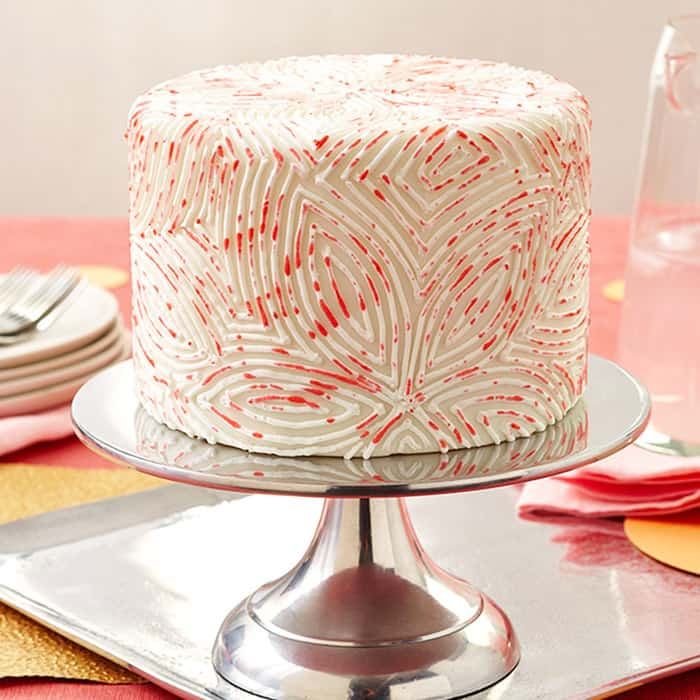 Petal Painting Fondant - birthday cake decorating ideas