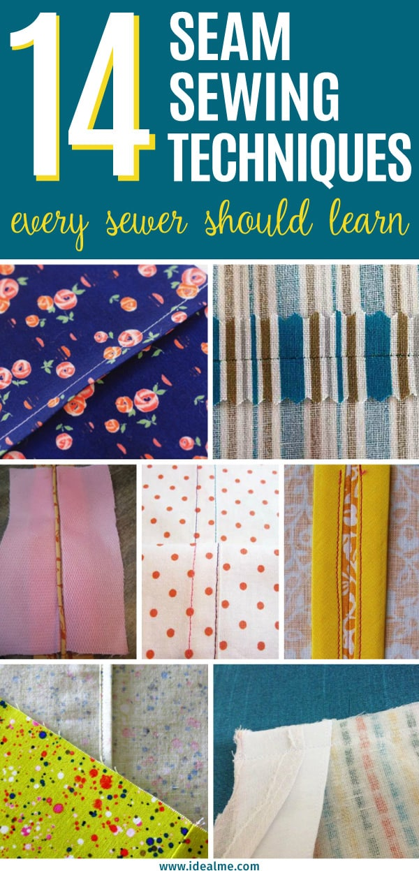 We've gathered 14 that will help you master sewing seams of various types for different uses, with helpful tutorials, tips, and tricks to mastering sewing seams.