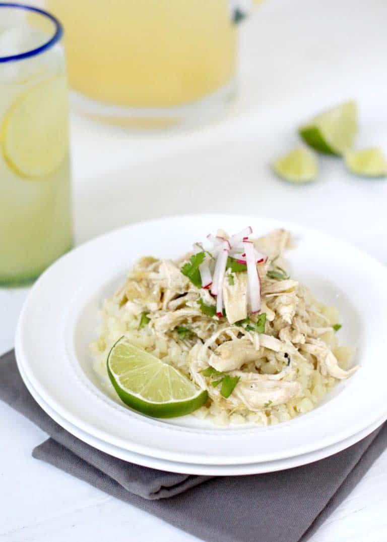 Slow Cooker Chicken Chile Verde - quick paleo recipes