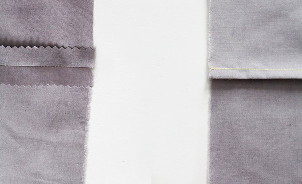 choosing a seam finish - sewing seams