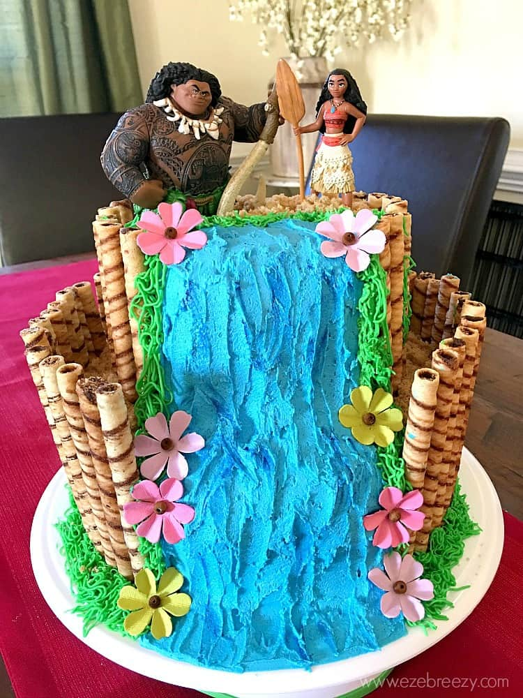moana cake - kids birthday cake ideas