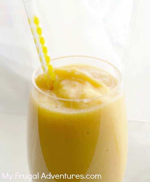 peach mango smoothie - paleo smoothie ideas