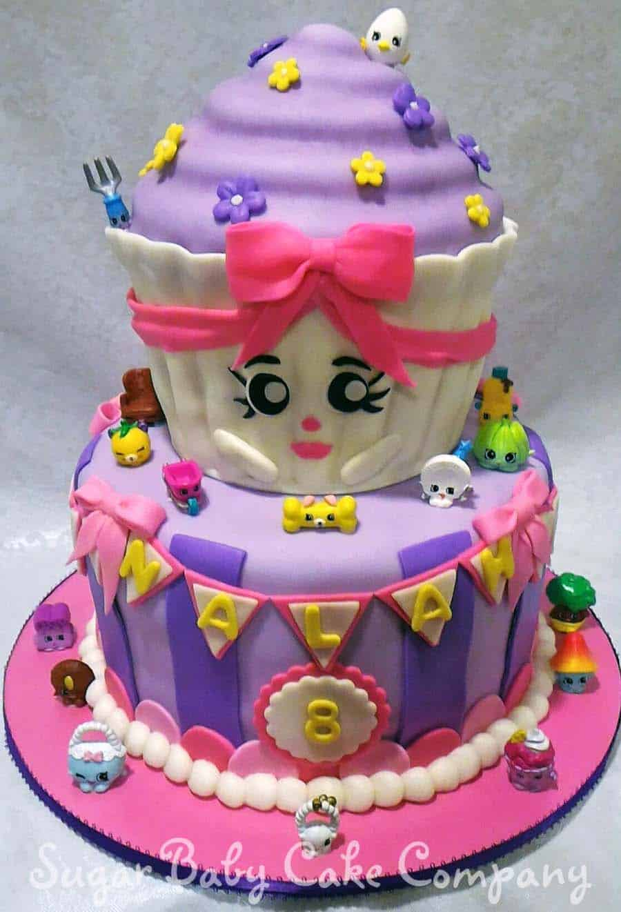 shopkins birthday cake - kids birthday cake ideas