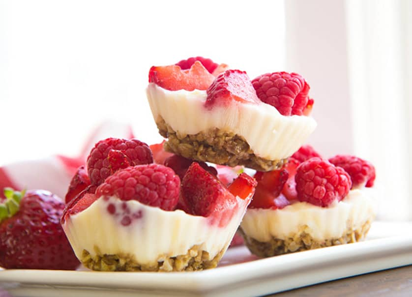FroYo Berry Bites - easy healthy desserts