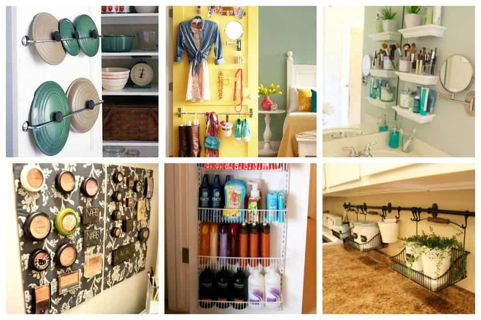 Weu0027ve Gathered Here 16 Easy Storage Ideas For Small Spaces That You Can Copy