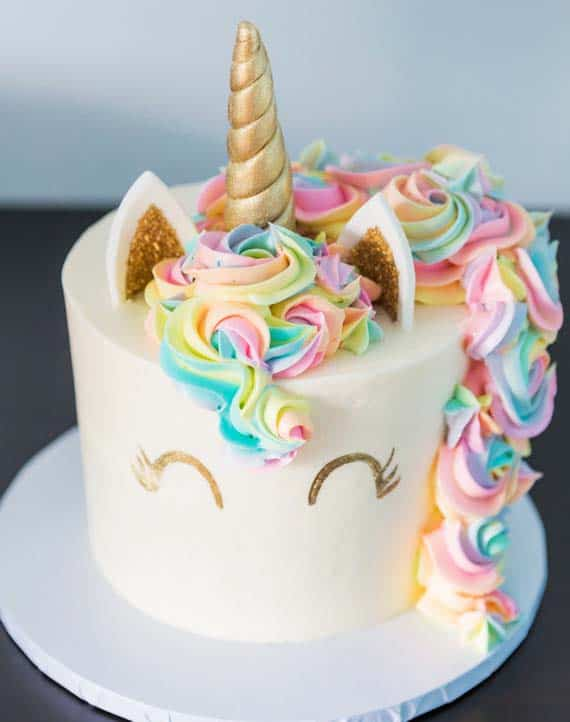 unicorn cake - kids birthday cake ideas