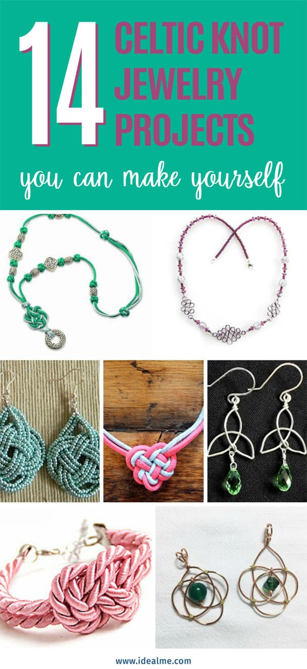 14 Celtic knot jewelry projects