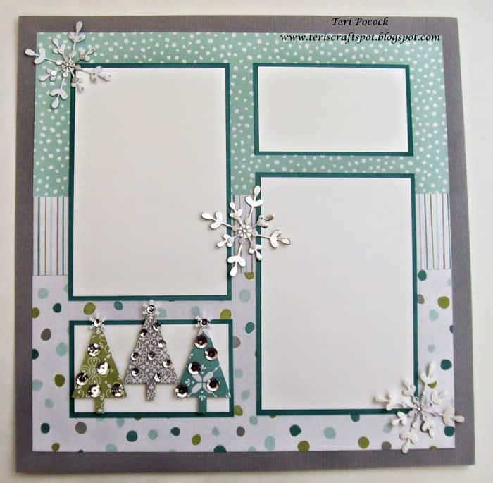All is Calm - scrapbook templates