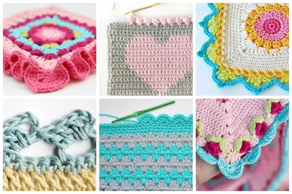 12 Creative Crochet Border Ideas Ideal Me