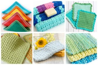 Looking for any each crochet project? Check out our 17 free crochet dishcloth patterns that'll make you actually want to wash the dishes now.