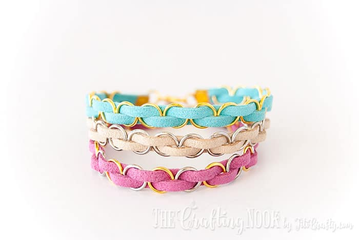Easy Braided Bracelets - beginner jewelry projects