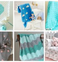 18 Adorable Crochet Baby Blankets to Brighten Baby's Nursery