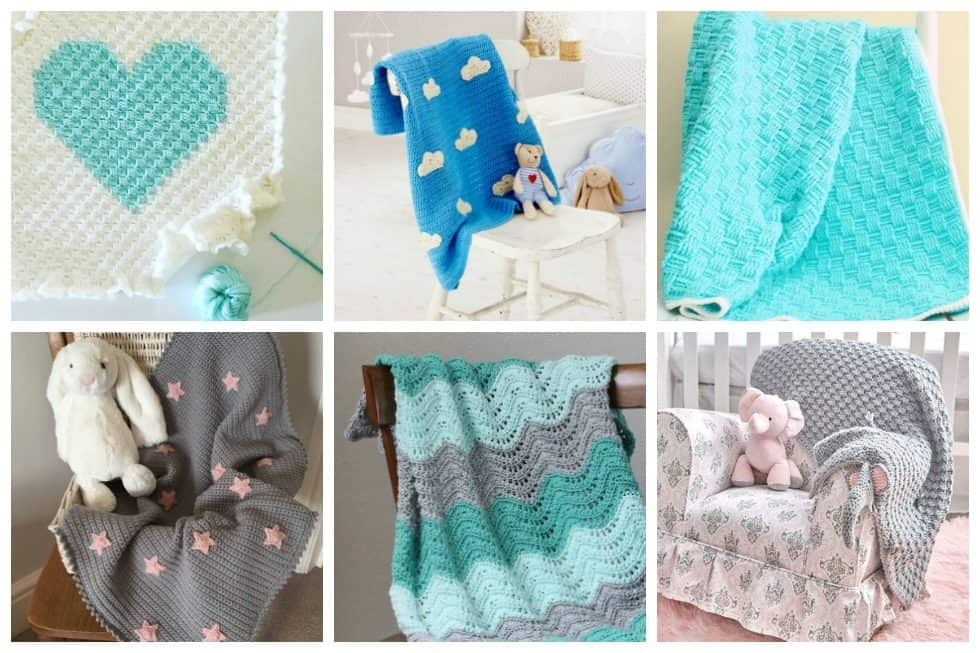 18 Adorable Crochet Baby Blankets To Brighten Baby S Nursery Ideal Me