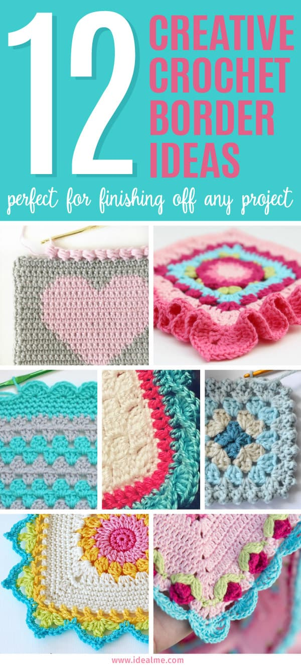 Sometimes finding ideas for crochet borders can be challenging. With that in mind, we've found these 12 creative crochet border ideas to get you started.