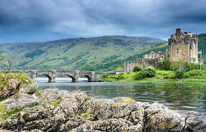 Eilean Donan Castle, Scotland - places to travel in Europe